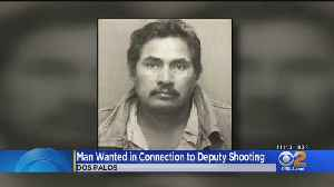 'Blue Alert' Issued For Man Wanted In Officer-Involved Shooting [Video]