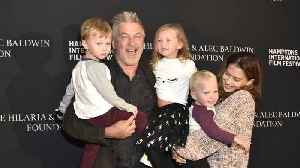 News video: Alec Baldwin and wife Hilaria planning to have fifth baby together