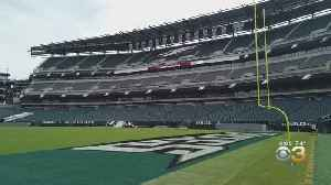 Behind The Scenes With Lincoln Financial Field's Ground Crew [Video]