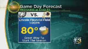 Philadelphia Weather: Eagles Forecast [Video]