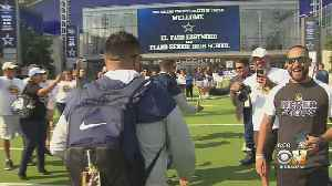 El Paso's Eastwood High Football Team Gets Warm Welcome In Frisco [Video]