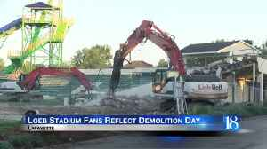 Residents reflect as Loeb Stadium is torn down [Video]