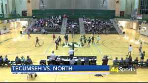 HS VB: North Beats Tecumseh in 4 Sets [Video]