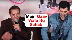 Dharmendra Back To Back FUNNY Moments | Pal Pal Dil Ke Paas | Sunny Deol, Karan Deol, Sahher Bambba [Video]