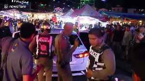 Thai police catch suspected drug dealer after high-speed chase through the streets [Video]