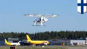 Flying taxi performs successful test flight at Helsinki Airport [Video]