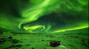 Aurora dances brightly above Zhongshan Station in Antarctica [Video]