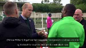 Duke of Cambridge condemns racism in football: 'outrageous' [Video]