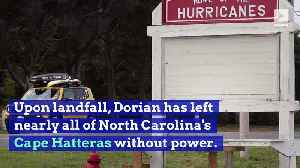 Hurricane Dorian Reaches North Carolina Coast [Video]