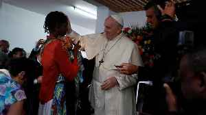 Pope Francis leads Mass on last day in Mozambique [Video]