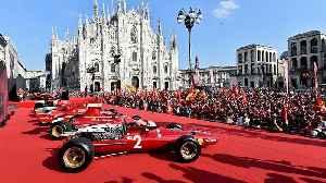 Ferrari celebrates 90th anniversary in Milan [Video]