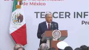 News video: Mexico Expects Relief On U.S. Tariff Threat