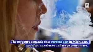 Michigan to Prohibit Selling of Flavored E-Cigarettes [Video]