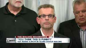 Sex abuse survivor slams Bishop Malone [Video]