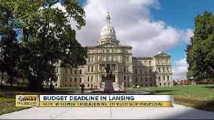 Gov. Whitmer threatening to veto GOP budget proposal [Video]