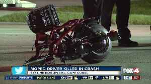 Moped driver killed in Cape Coral crash Thursday night [Video]