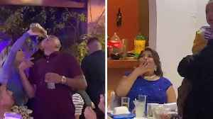 MOTHER'S INNOCENT PERCEPTION OF HER SON SHATTERED AS DOWNS BOTTLE OF TEQUILA IN FRONT OF HER EYES [Video]