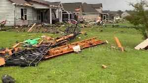 News video: North Carolina homes in ruins from wrath of Hurricane Dorian as storm continues