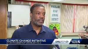 Climate change initiative led by Woodland Hills 8th-graders [Video]