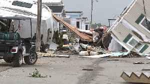 'We Just Started Praying': Man Recounts Moments Tornado Tore Through North Carolina Town [Video]