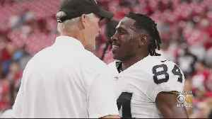 News video: Report: Raiders to Suspend Antonio Brown After Confrontation With GM Mike Mayock