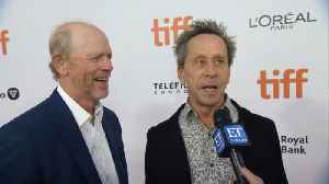 News video: Ron Howard, Brian Grazer At 'Once We Were Brothers' Premiere