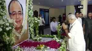 BJP Odisha unit holds all party Shrashanjali Sabha for its blue eye boy Jaitley [Video]