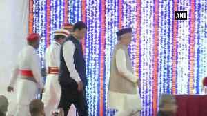 News video: Bhagat Singh Keshyari takes oath as Maharashtra Governor