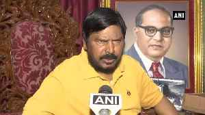 RPI doesnt want to fight Maharashtra elections on BJP symbol Ramdas Athawale [Video]