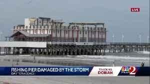 News video: Daytona Beach Pier damaged during Hurricane Dorian