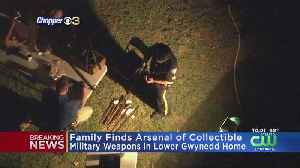 Arsenal Of Collectible Military Weapons Found In Montgomery County Home, Police Say [Video]