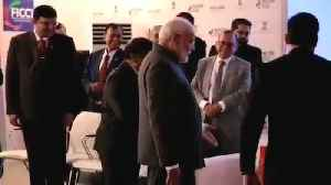 News video: PM Modi refuses sofa, opts for chair at photo session in Russia's Vladivostok