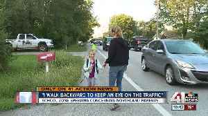 Speeding cars worry Platte County mom who walks daughter to bus [Video]