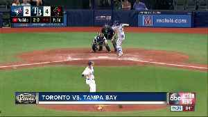 News video: Austin Meadows helps wild card-leading Tampa Bay Rays beat Toronto Blue Jays 6-4