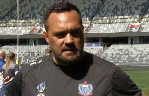 """""""You'll see brutal collisions"""", says Samoa coach about Australia World Cup warm-up [Video]"""