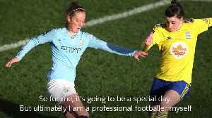 Keira Walsh primed for 'special' Manchester derby [Video]
