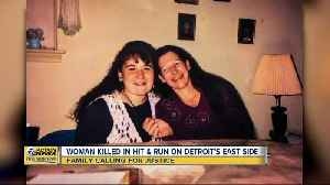 Woman killed in hit and run on Detroit's east side [Video]