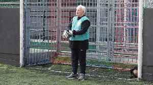 Meet Britain's oldest goalkeeper [Video]
