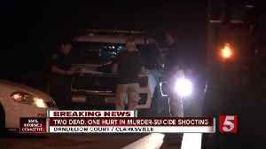 News video: Two dead, one injured in Clarksville murder-suicide
