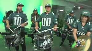 Eagles Pep Rally Held At CBS3 Great Hall [Video]
