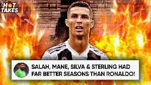 Cristiano Ronaldo Is Not In The World's Top 3 Players Because... |#HotTakes [Video]