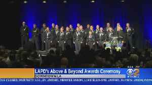 Nearly 2 Dozen LAPD Officers Honored For Going Above And Beyond [Video]