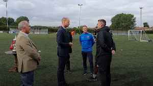 Duke of Cambridge tackles mental health issues and racism during football club visit [Video]