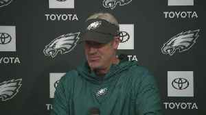 Eagles Coach Doug Pederson Addresses Media Ahead Of Sunday's Season Opener [Video]