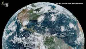 Satellite Captures Four Cyclones Lined Up Across the World [Video]