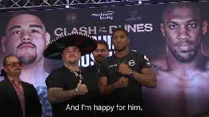 Anthony Joshua claims Andy Ruiz is the best heavyweight boxer on the planet