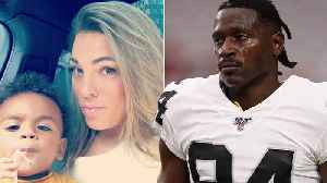 News video: Antonio Brown's Baby Mama Receiving THREATS As Raiders Plan To Possibly CUT Him From The Team!