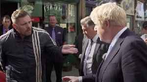 'You're playing games!' Heckler ruins Boris Johnson's charm offensive in the north of England [Video]
