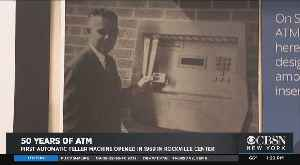 Inventor Of ATM Honored On Cash Machine's 50th Anniversary [Video]