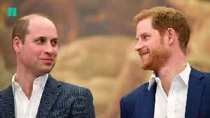 Princes Harry and William Open Up About Mental Health [Video]